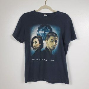 Demi Lovato & Nick Jonas 2016 Tour T-Shirt